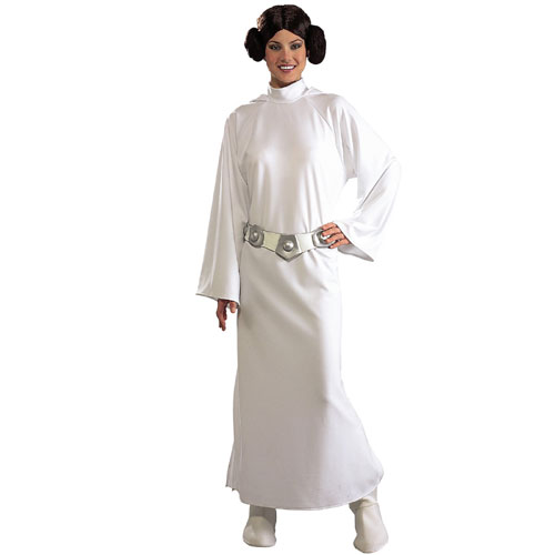 Rubies Costume Co 19972 Star Wars Princess Leia Deluxe Adult Costume Size Standard One-Size- Women 6-10