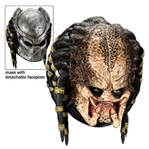 Rubies Costume Co 17733 Predator Dlx Mask with Removable Faceplate