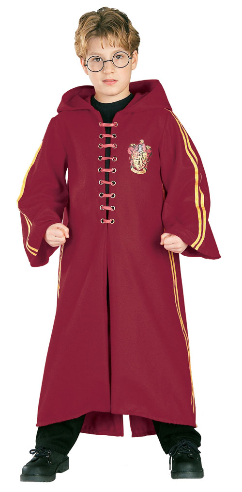 Rubies Costume Co 17673 Harry Potter Quidditch Robe Super Deluxe - Child Size Small