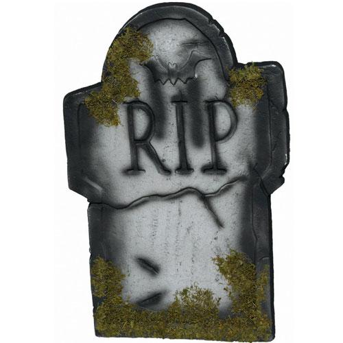 "Amscan 154061 1""H Mossy Bat Tombstone"