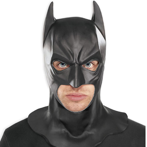 Rubies Costume Co 33003 Batman Dark Knight Adult Batman Full Mask Size One-Size