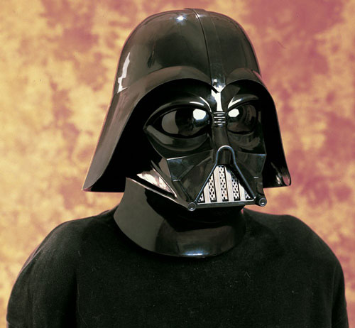 Rubies Costume Co 18910 Star Wars Darth Vader 2 Pc. Inj. Molded Mask