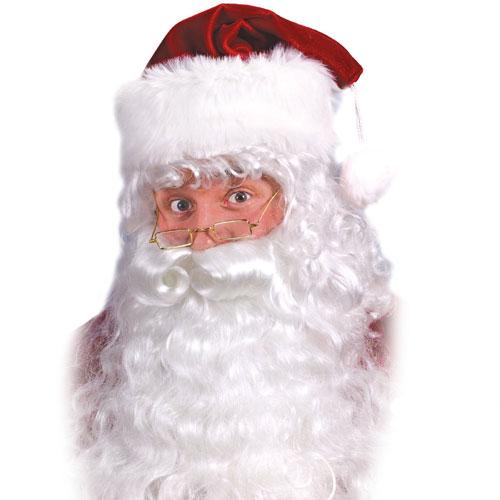 Fun World 19026 Santa Beard And Wig Set