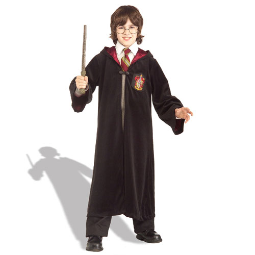 Rubies Costume Co 17137 Premium H.P. Gryffindor Robe Child Costume Size Small- Boys 4-6