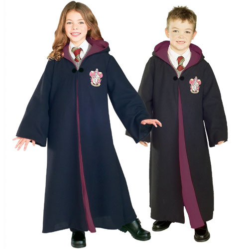 Rubies Costume Co 17671 Harry Potter Gryffindor Robe Deluxe - Child Size Large
