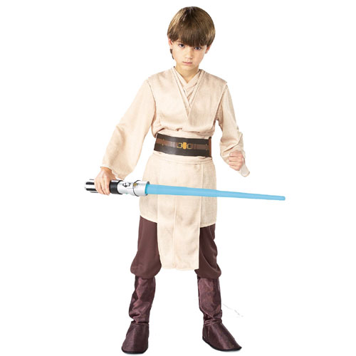 Rubies Costume Co 18792 Star Wars Jedi Deluxe Child Costume Size Large- Boys 12-14