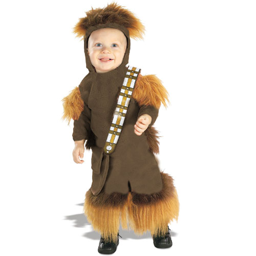 Rubies Costume Co 18886 Star Wars Chewbacca Fleece Infant-Toddler Costume Size Toddler