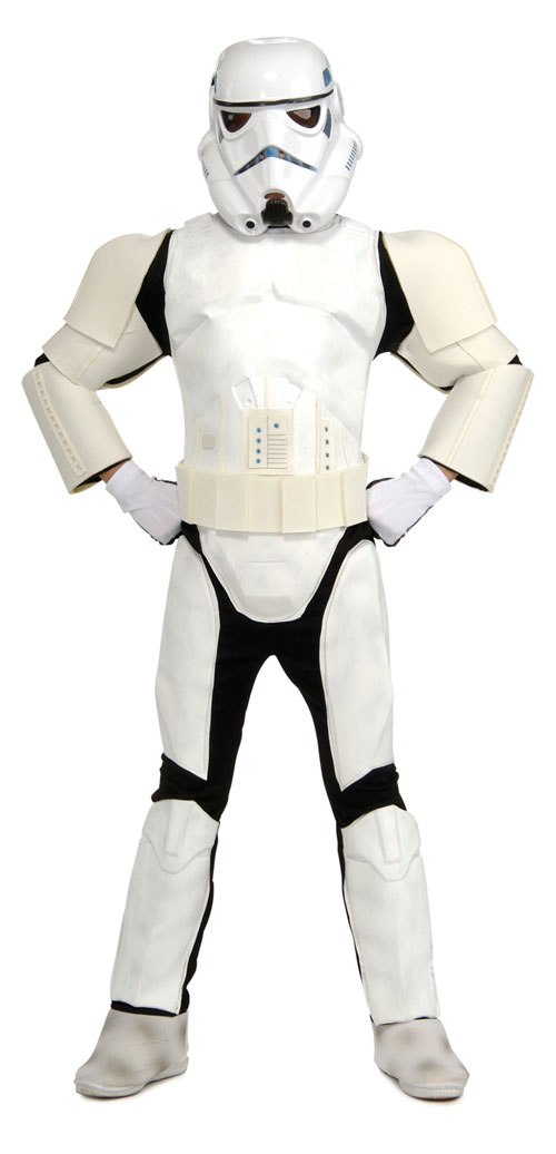 Rubies Costume Co 32184 Stars Wars Storm Trooper Special Edition Child Costume Size Medium- Boys 8-10