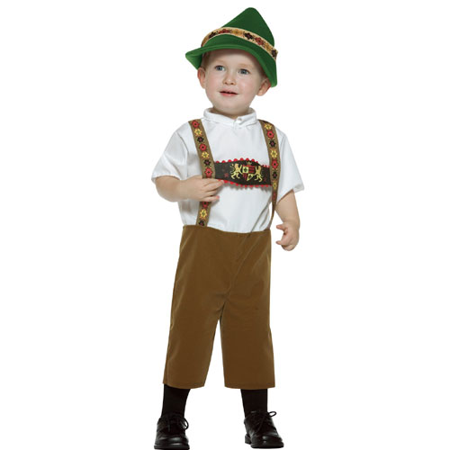 Rasta Imposta 32458 Alpine Boy Toddler Costume Size 3-4T