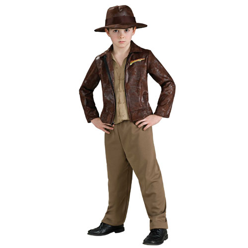 Rubies Costume Co 33138 Indiana Jones Deluxe Indiana Child Costume Size Small- Boys 4-6