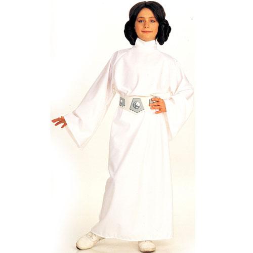 Rubies Costume Co 6371 Star Wars Princess Leia Child Costume Size Medium- Girls 8-10
