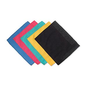 Microfiber Cleaning Cloths  18cm  5 Pack