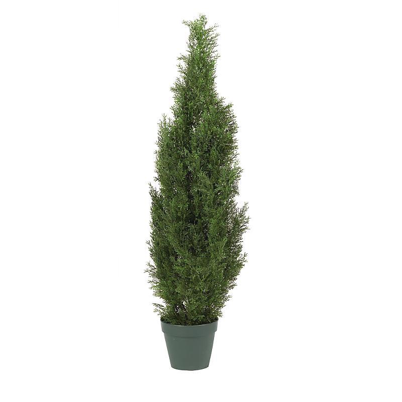 Nearly Natural 5172 Cedar Tree 4 - In-door- Out-door  Silk Tree- Green