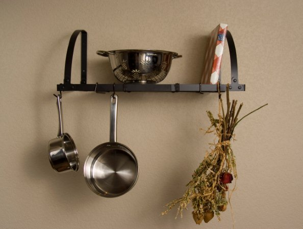 Advantage Components WMR2001 Expandable Wall Mount Pot Rack / Shelf