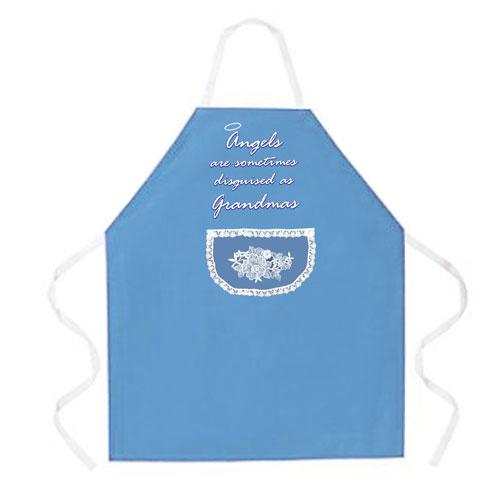 L.A. Imprints 2005 Angels as Grandmas Cooking Apron