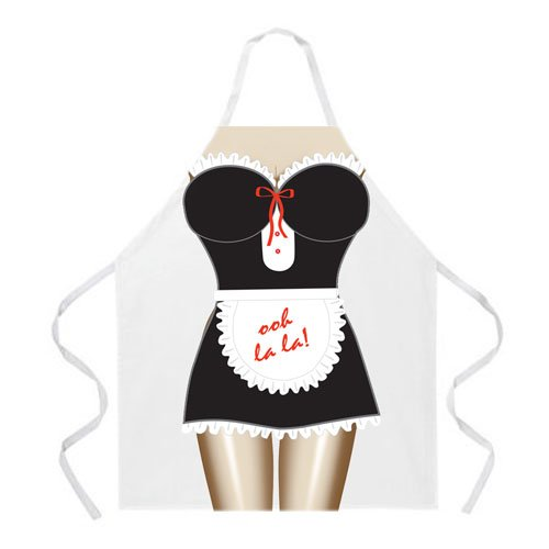 L.A. Imprints 2020 French Maid Cooking Apron