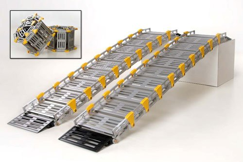Roll-A-Ramp A11208A19 Wide Twin Track Ramp  9 Ft Long x 12 Inch