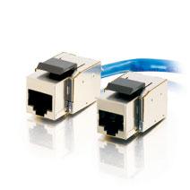 Cables To Go 35228 Cat5E Toolless Keystone Jacks-Fully Shielded