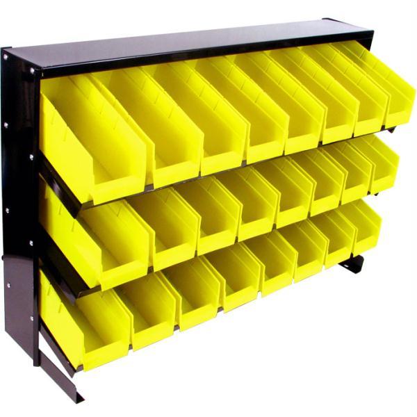 Trademark Tools 24 Bin Parts Storage Rack Trays