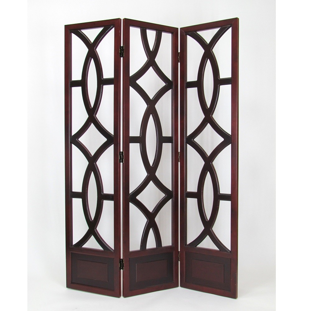 Wayborn Furniture 2395 Brown Charleston Screen for Room Dividers
