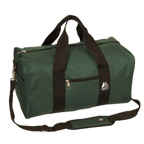 Everest 1008D-GN 19 in. Basic Duffel Gear Bag