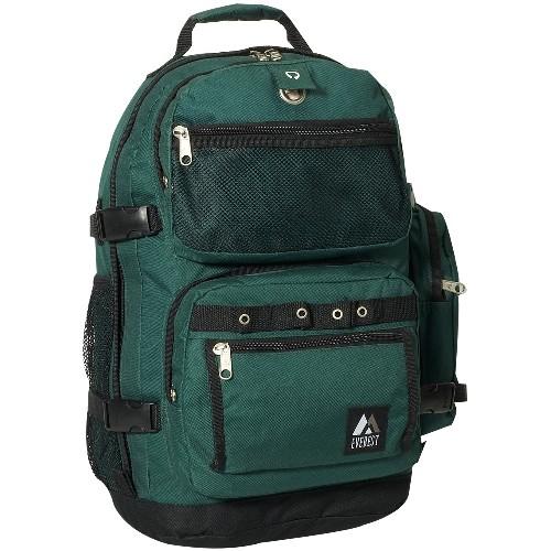 Everest 3045R-GN 20 in. Oversize Deluxe Backpack
