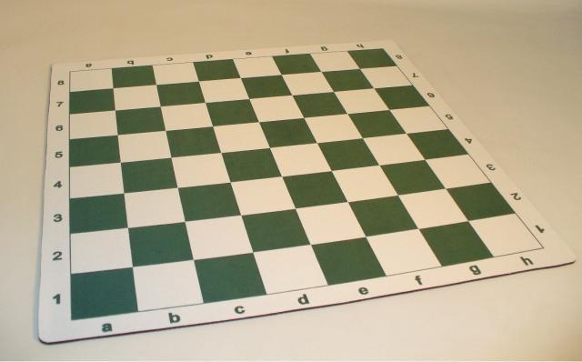 CNChess 95225 Alpha-Numeric Thick Chess Mat