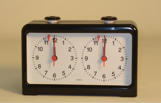 CNChess 4002QC Black Quartz Chess Clock
