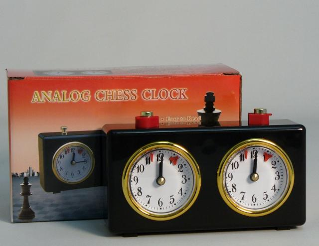 CNChess 4005AC Black Analog Chess Clock