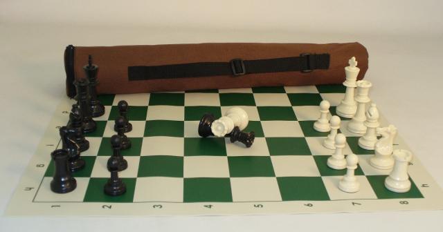 WW Chess 95200 Tournament Chess Kit Vinyl Mat