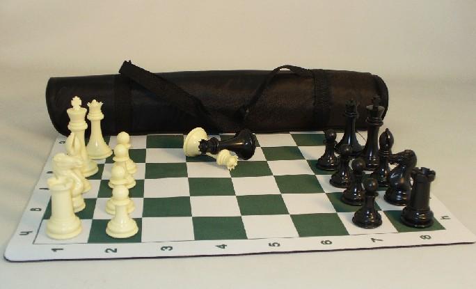 WW Chess 95201 Pro Chess 4 in. Plastic Set