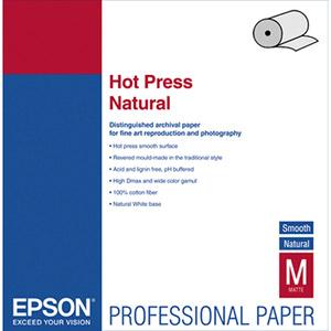 Epson S042323 Hot Press Natural Fine Art Paper  17'' x 50 ft  Roll