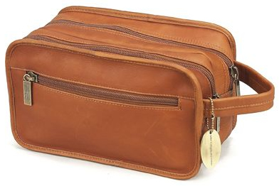 Claire Chase 771E-saddle Luxury Travel Kit New - Saddle