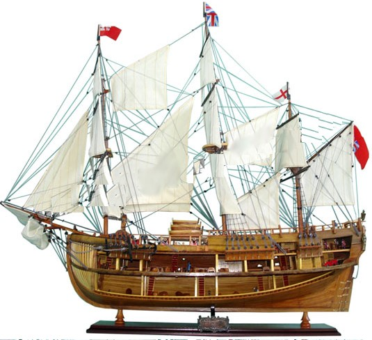 Old Modern Handicrafts T275 HMS ENDEAVOUR OPEN HULL