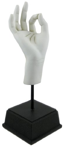 TMS H234-WHT Hand Sculpture - Ok in White