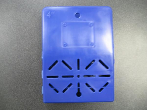 Wilco Molding BVIND40 4 in. Brush Vest Individual Unit -Case of 12