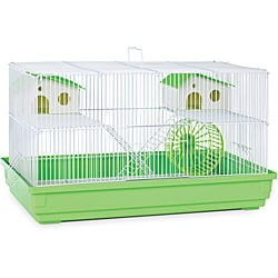 Prevue Pet Products SP2060G Prevue Hendryx Deluxe Hamster & Gerbil Cage- Lime Green