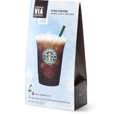 Starbucks 702520 Via Iced Coffee - Pack of 6