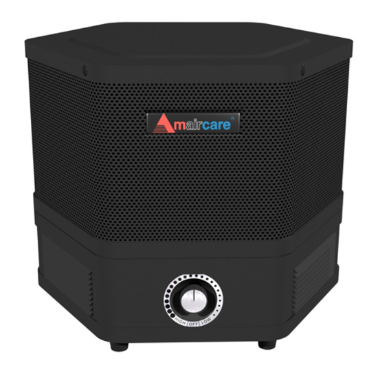 Amaircare 2501102P 2500 Portable HEPA Filtration System in Black with Variable Speed Control