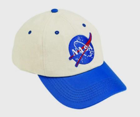 Aeromax FS-CAP Jr. Flight Blue and White Cap - Adj Youth Size