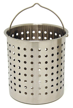 Bayou Classic B124 24 Quart Perforated Basket