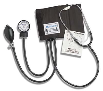 Mabis 04-174-021 Self-Taking Home Blood Pressure Kit - Black