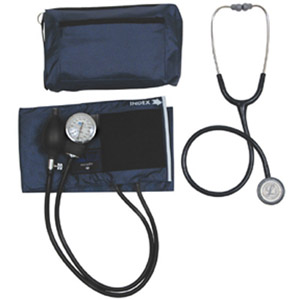Mabis MatchMates Combination Kit with a 3M Littmann Classic II S.E. Stethoscope- Black