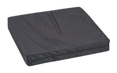 Duro-Med 513-7505-0200 Pincore Cushion With Nylon Oxford Cover - 16 x 18 x 3 - Black