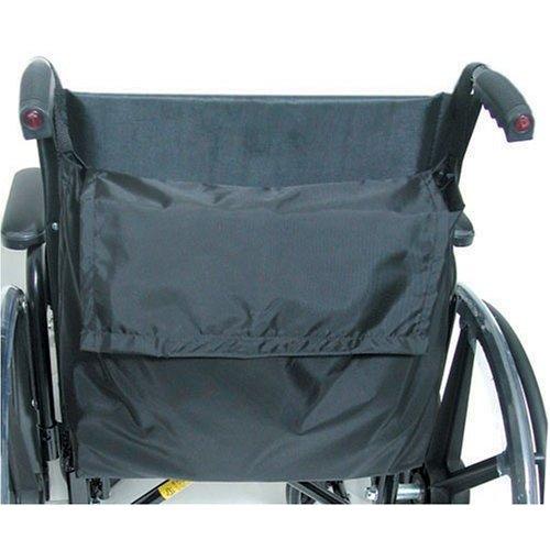 Duro-Med 517-1072-0200 Wheelchair Back Pack - Black Nylon