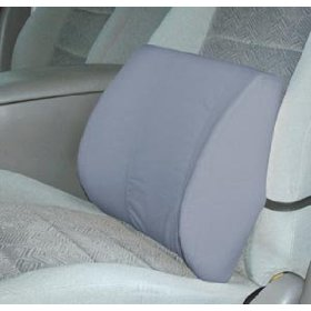 Duro-Med 555-7300-0300 Standard Lumbar Cushion With Strap - Gray