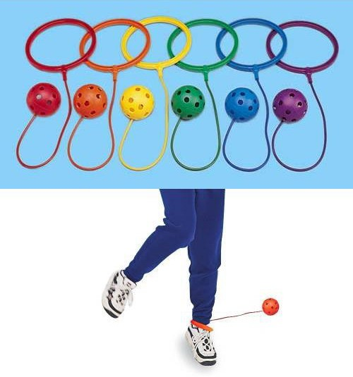 Everrich EVB-0052 Ankle Hoop Ball - Set of 6 Colors