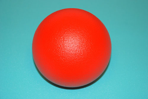 Everrich EVAJ-0007 2.75 Inch Foam Ball with Coating