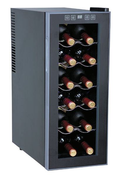 Sunpentown WC-1271 12-Bottles Slim Wine Cooler