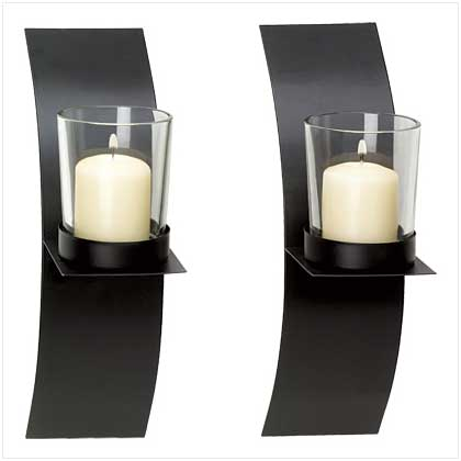 SWM 39066 Mod - Art Candle Sconce Duo